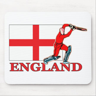 English Cricket Player Mouse Mat