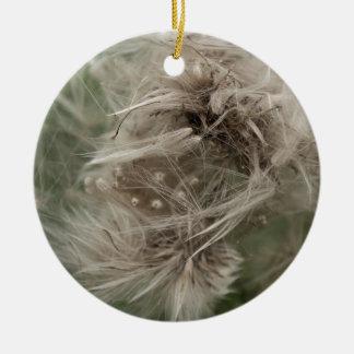 English dandilion clot christmas ornament