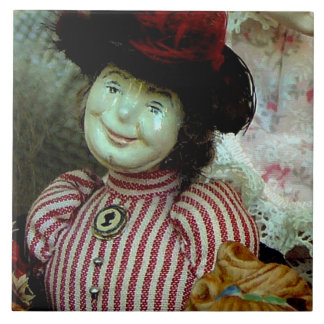 """English Doll From The Past"" Tile"