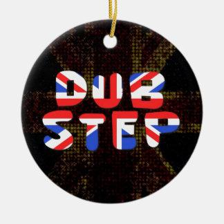 English Dub Step Christmas Ornament