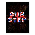 English Dub Step Postcard