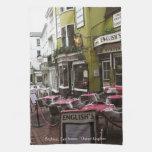 English Eatery Alley, Brighton (UK) Teatowel Kitchen Towel