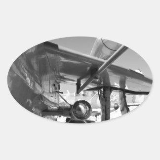 English Electric Lightning F.6 Oval Sticker