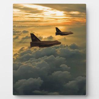 English Electric Lightning sunset flight Plaque