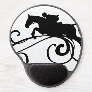 English Equestrian Flourish Gel Mouse Pad