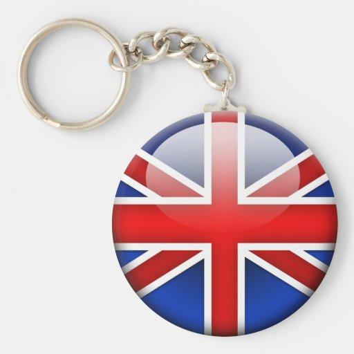English Flag 2.0 Key Chain