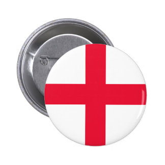 English Flag 6 Cm Round Badge
