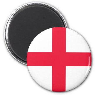 English Flag 6 Cm Round Magnet