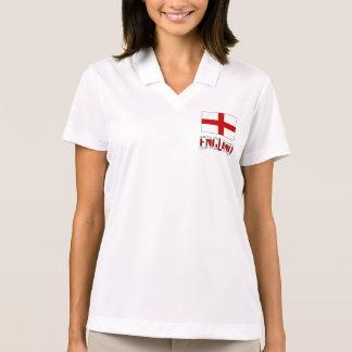English Flag and England Polo Shirt