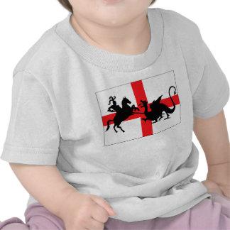 English flag baby shirt