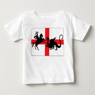 English flag baby t shirt