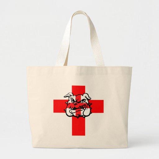 English flag tote bag
