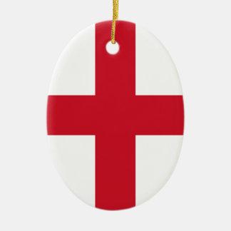 English flag christmas ornament