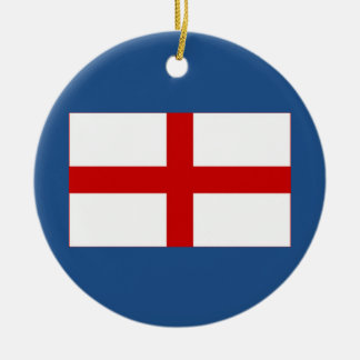 English Flag Christmas Ornament