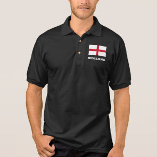 English flag custom polo shirt for men and women