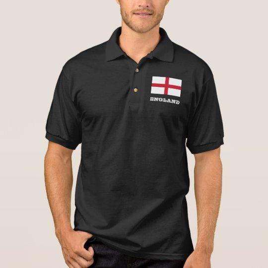 English flag custom polo shirt for men and