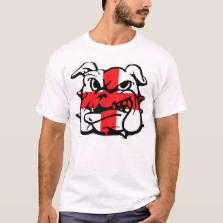 English flag,English Bulldog T-Shirt