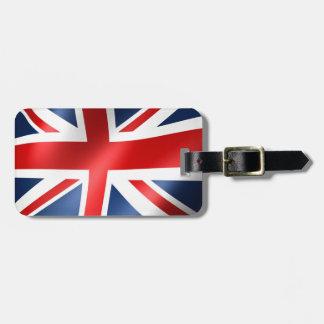 English flag for Luggage-Tag-leather-strap Luggage Tag