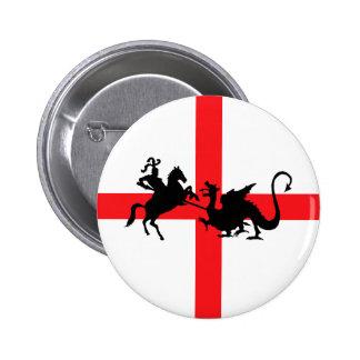 English flag George and the Dragon Pin