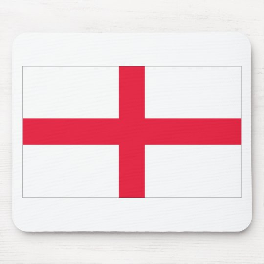 English Flag Mouse Pad