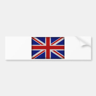 English flag of England textured Bumper Sticker