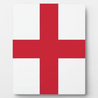English flag plaque
