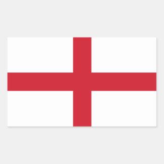 English Flag Rectangular Sticker