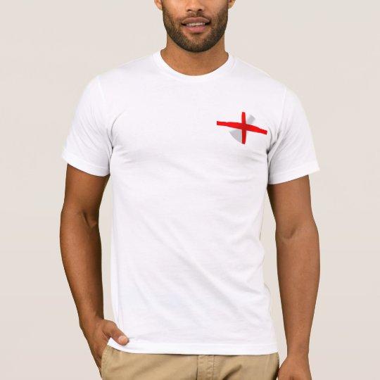English Flag With Bubble Tee Shirt
