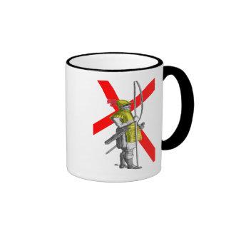 English Foot Soldier Ringer Mug