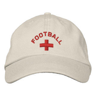 English Football Cap Embroidered Baseball Cap