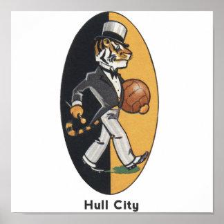 English Football Team Hull City Poster
