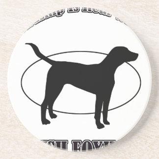 english foxhound DOG DESIGNS Beverage Coaster