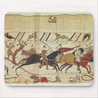 English & French soldiers fall side by side Mouse Pad