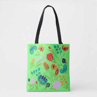 English Garden Mint Tote