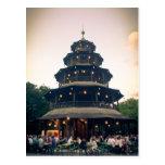 English Garden tower, Munchen