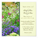 English Gardens Wedding Invitation 13 Cm X 13 Cm Square Invitation Card