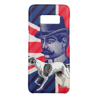 English Gentleman Telephone Booth union jack flag Case-Mate Samsung Galaxy S8 Case