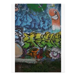 English Graffiti Full Color Flyer