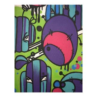 English Graffiti 21.5 Cm X 28 Cm Flyer