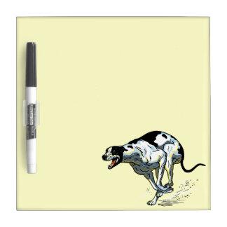 english greyhound dry erase board