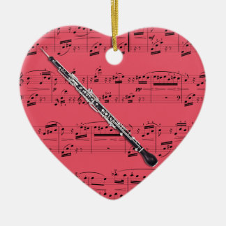 English Horn - Pick your color Christmas Ornament