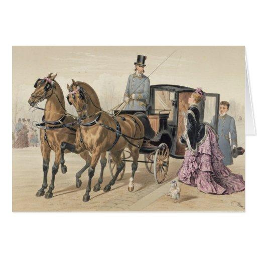 English Horses Card