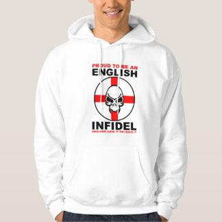 English Infidel - England Love It Or Leave It Sweatshirts