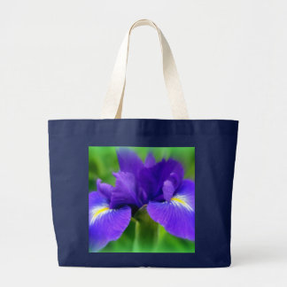 English Iris Large Tote Bag
