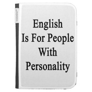 English Is For People With Personality Kindle 3G Case