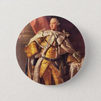 English King George III by Studio of Allan Ramsay 6 Cm Round Badge
