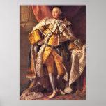 English King George III by Studio of Allan Ramsay Poster