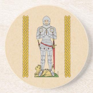English Knight, Circa 1430 Coaster