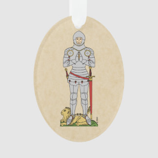 English Knight, Circa 1430 Ornament