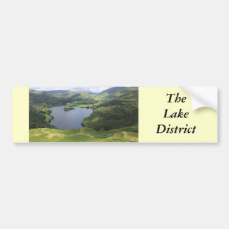 English Lake District Bumper Sticker